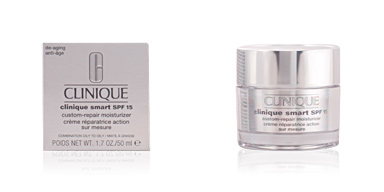 Anti-rugas e anti envelhecimento SMART SPF15 custom-repair moisturizer III Clinique