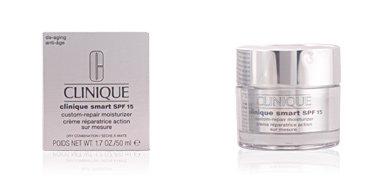 Gesichts-Feuchtigkeitsspender SMART SPF 15 custom-repair moisturizer dry combination Clinique