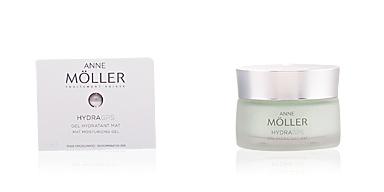 Face moisturizer HYDRAGPS gel hydratant mat Anne Möller