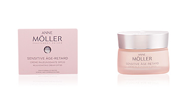 Skin tightening & firming cream  SENSITIVE ÂGE-RETARD crème SPF20 peaux normales/mixtes Anne Möller