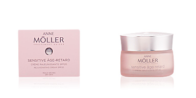 Anti aging cream & anti wrinkle treatment SENSITIVE ÂGE-RETARD crème SPF20 peaux sèches Anne Möller