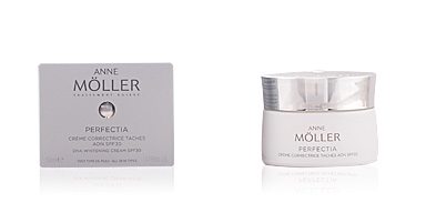 Anti blemish treatment cream PERFECTIA crème correctrice taches ADN SPF30 Anne Möller