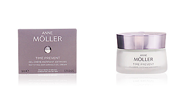 Face moisturizer TIME PREVENT gel-crème matifiant anti-rides Anne Möller