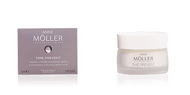 Anti aging cream & anti wrinkle treatment TIME PREVENT crème lumière antirides SPF15 Anne Möller