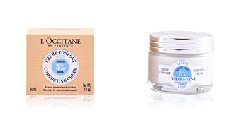 Gesichts-Feuchtigkeitsspender KARITE crème confort visage légère L'Occitane