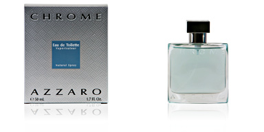 Azzaro CHROME eau de toilette vaporizador 50 ml