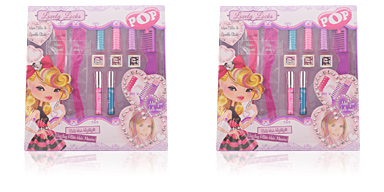 Pop POP LOVELY LOCKS HAIR COLOR SPARKLE STUDIO 11 pz