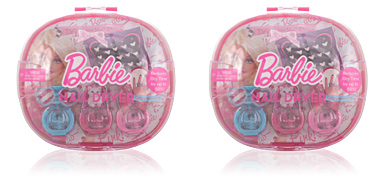 BARBIE DOLL´ ICIOUS NAIL DRYER CASE 8 pz Barbie