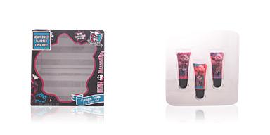Monster High SCREAM TEAM LIP GLOSS CASE 3 pz