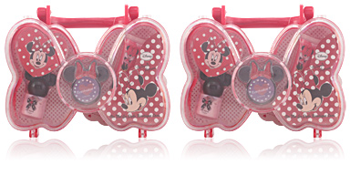 Minnie Mouse ON THE GO STYLE BOWTIQUE CASE 4 pz
