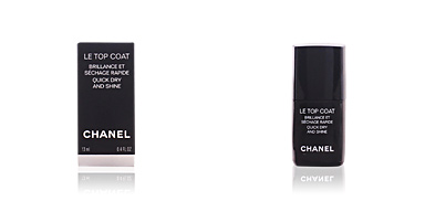 BRILLANCE ET SÉCHAGE RAPIDE #le top coat Chanel