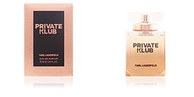 PRIVATE KLUB POUR HOMME eau de parfum spray Lagerfeld