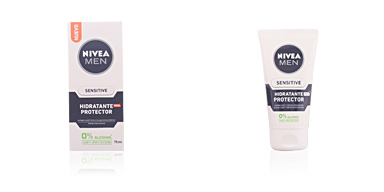 Face moisturizer MEN SENSITIVE protector hidratante 0% alcohol SPF15 Nivea