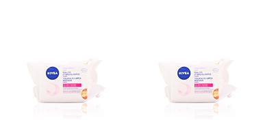 Nivea VISAGE makeup remover towelettes 25 + 15 uds
