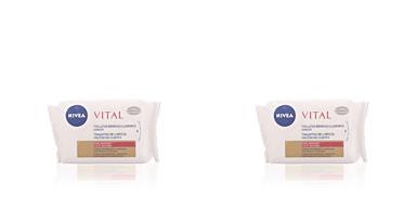 Nivea VISAGE makeup remover towelettes 23 uds