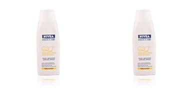 Limpiador facial Q10+ anti-arrugas leche limpiadora Nivea