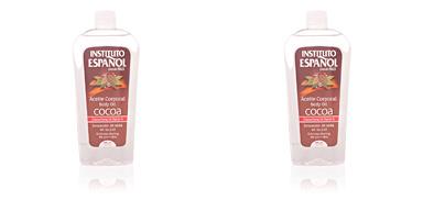 Body moisturiser COCOA aceite corporal Instituto Español