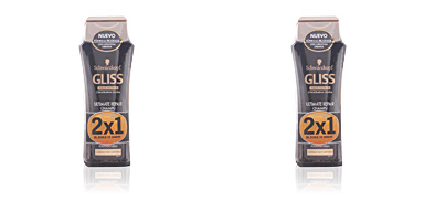 Schwarzkopf GLISS ULTIMATE REPAIR SHAMPOO LOTE 2 pz