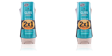 Schwarzkopf GLISS MILLION GLOSS CONDITIONER LOTE 2 pz