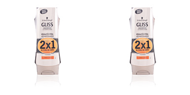 Schwarzkopf GLISS REPARADOR TOTAL CONDITIONER LOTE 2 pz