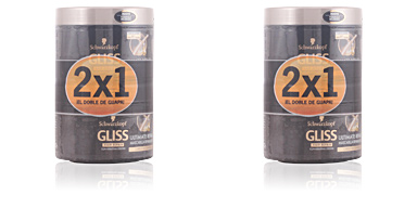 Schwarzkopf GLISS ULTIMATE REPAIR MASK LOTE 2 pz