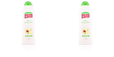 Shower gel GEL + BODY MILK crema de ducha aguacate La Toja