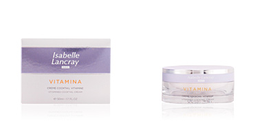 Antifatigue facial treatment VITAMINA crème cocktail vitamine Isabelle Lancray