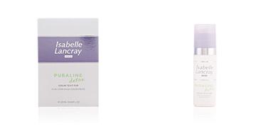 Traitement de l'acné, des pores et des points noirs PURALINE detox sérum teint pur Isabelle Lancray