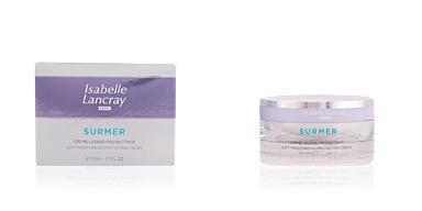 Soin du visage hydratant SURMER crème légère protectrice Isabelle Lancray