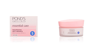 Anti aging cream & anti wrinkle treatment CUIDADO ESENCIAL nutritiva antiarrugas 'S' piel seca Pond's