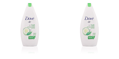 Dove GO FRESH pepino & té verde gel de ducha nutritivo 400 ml