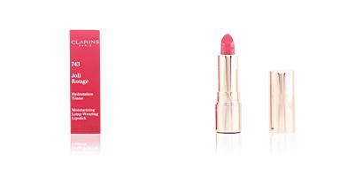 Clarins JOLI ROUGE lipstick #743-cherry red