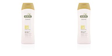 Babaria ACEITE DE OLIVA leche corporal hidratante 400 ml