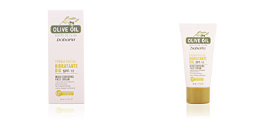 ACEITE DE OLIVA crema facial hidratante día SPF15 50 ml