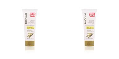 Tratamientos y cremas manos ACEITE DE OLIVA crema nutritiva manos Babaria