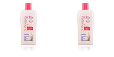 Gel de baño ALOE VERA jabón líquido corporal pieles atópicas Babaria