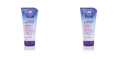 Limpiador facial CLEAN & CLEAR PUNTOS NEGROS gel limpiador 3 en 1 Clean & Clear