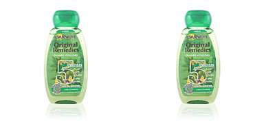 ORIGINAL REMEDIES champú 5 plantas 250 ml Fructis