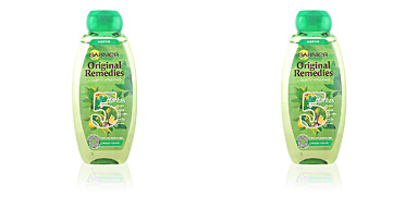 ORIGINAL REMEDIES champú 5 plantas 400 ml Fructis