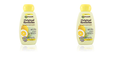 Garnier ORIGINAL REMEDIES champú arcilla y limón 250 ml