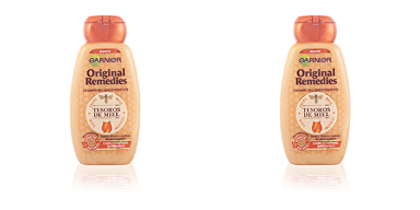 ORIGINAL REMEDIES champú tesoros de miel 250 ml Fructis