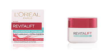 Cremas Antiarrugas y Antiedad REVITALIFT crema hidratante anti-arrugas textura ligera L'Oréal París