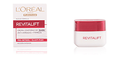 Anti aging cream & anti wrinkle treatment REVITALIFT crem contorno ojos anti-arrugas + firmeza L'Oréal París