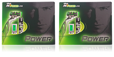 Gillette M3 POWER COFFRET 2 pz