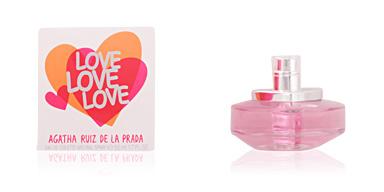 Agatha Ruiz De La Prada LOVE LOVE LOVE eau de toilette spray perfume