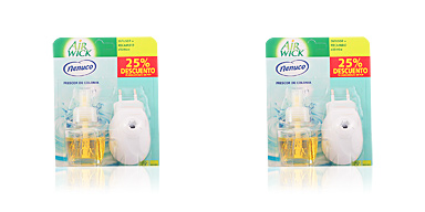 AIR-WICK ambientador electrico completo #nenuco 19 ml Air-wick