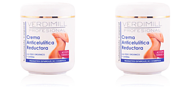 Tratamiento anticelulitico VERDIMILL PROFESIONAL crema anticelulítica reductora acción térmica Verdimill
