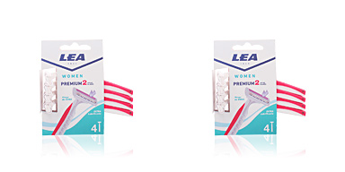 Lea WOMAN PREMIUM2 maquinilla desechable 2 filos 4 uds