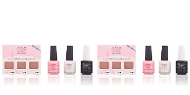 Coffret Maquilhagem COLORSTAY GEL ENVY MANICURA FRANCESA LOTE Revlon Make Up