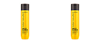 Moisturizing shampoo TOTAL RESULTS HELLO BLONDIE shampoo Matrix